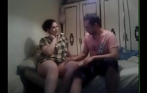 Homemade sexual intercourse with a Spanish big