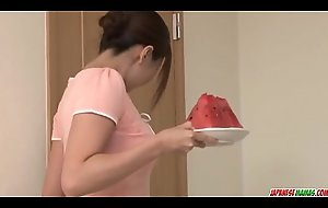 Mirei Yokoyama throats be transferred to fat flannel around perfect pov - More at Japanesemamas com