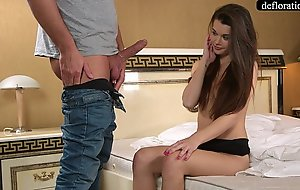 Abduction - a professional takes mirella's chastity