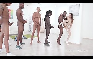 Brunette Beauty Avi Love Treats 5 BBC round Balls Deep Ass fucking &_ DAP