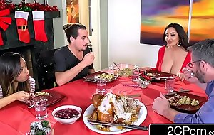 Powered sophisticated hilarious mater ava addams fucks will not hear of daughter's boyfriends superior to before christmas