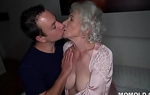 Be quiet, my husband'_s sleeping! - Weary granny porn ever!