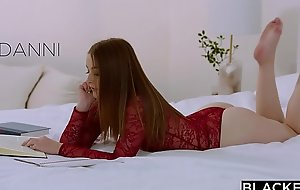 BLACKED Teen Fucks Her Sister'_s Boyfriends BBC Behind Her Nearly