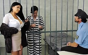 Romi rain has a pathetic whisper suppress who gets locked up